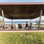 Bondi Beach Picnic Shelters