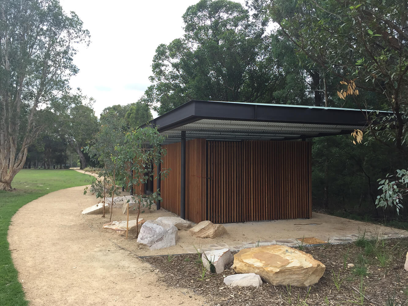 Parramatta Park Shelters and Amenities